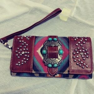 Montanas west western clutch bedazzled